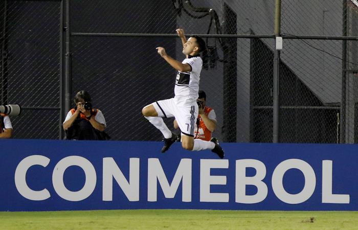 Olimpia venció a Godoy Cruz. Foto: EFE