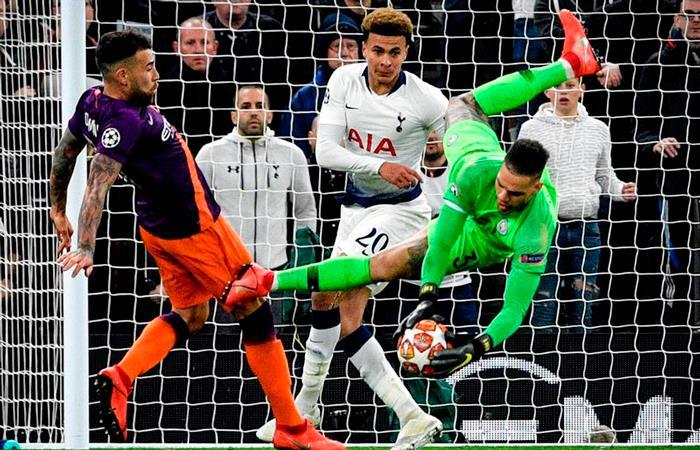 Tottenham celebró en casa gracias al gol del coreano Heung-Min Son. Foto EFE