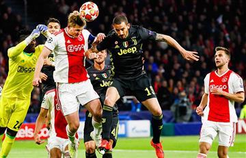 Ajax empató ante Juventus por Champions League