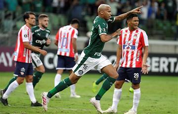 Palmeiras goleó al Junior
