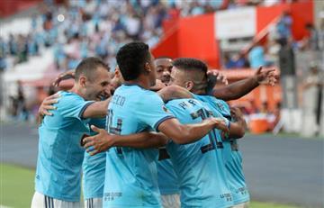 Cristal ganó y sigue soñando con los 8vos de la Libertadores