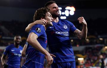 Chelsea venció en la ida de los cuartos de final