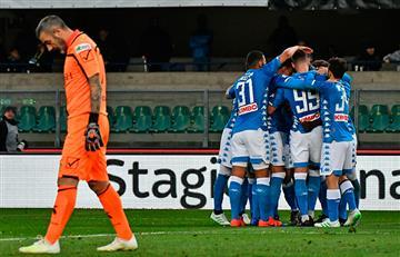 Nápoli ganó y posterga la celebración de la Juve en Serie A
