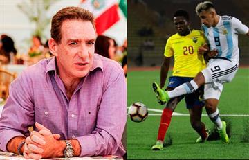 Eddie Fleischman y la fuerte acusación a Argentina tras eliminación de Perú