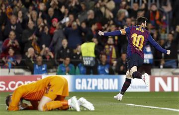 Messi acaba con su maldición en Champions
