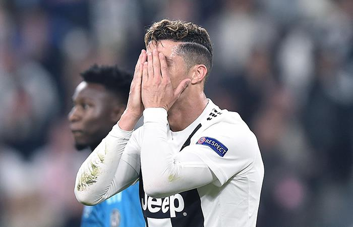 CR7 se despidió de la Champions League (Foto: EFE)