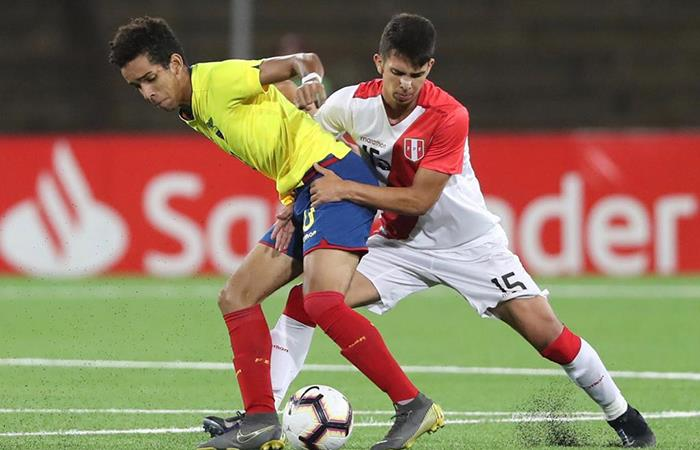 Alessandro Burlamaqui destacó en el Sudamericano Sub 17. Foto: Twitter