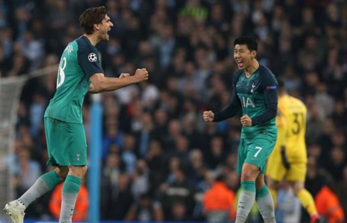 El surcoreano anotó dos goles para el Tottenham y se gana el pase a semifinales. Foto: EFE