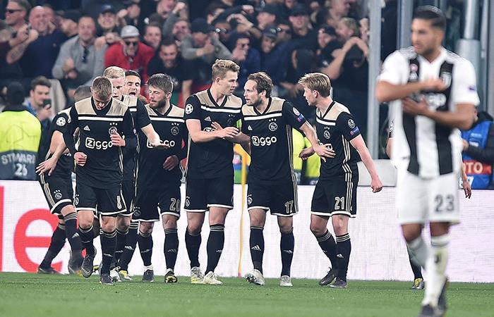 Ajax eliminó a la Juventus (Foto: EFE)