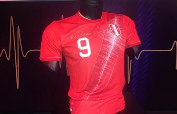 Selección Peruana: conoce la nueva camiseta 'edición especial'