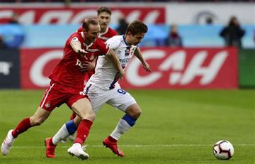 Lokomotiv, con Farfán, no pasó del empate con CSKA