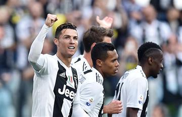 Cristiano Ronaldo destacó su primer año con la Juventus