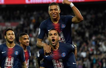 Kylian Mbappé fue la gran figura en la victoria del PSG ante AS Mónaco
