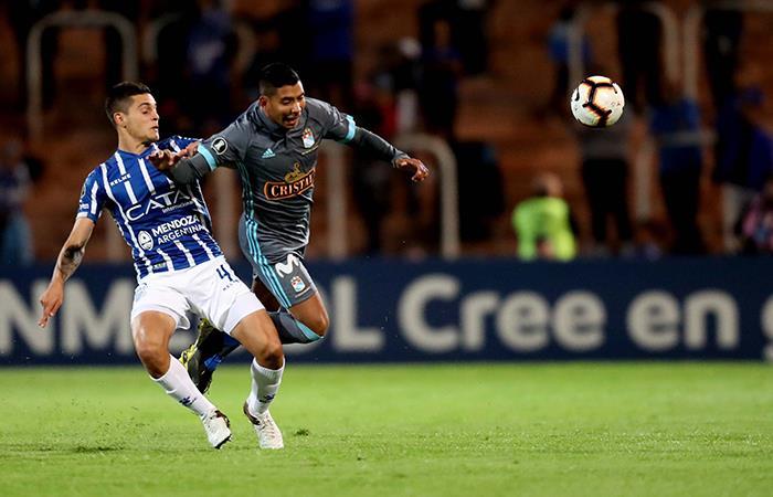 Sporting Cristal cayó por 2-0 ante Godoy Cruz. Foto: EFE