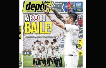 Portadas de los periódicos deportivos locales de este lunes 22 de abril