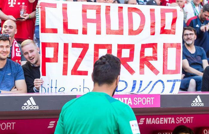 Claudio Pizarro. (Foto: Facebook Oficial del Bayern Múnich)