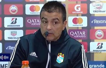 Godoy Cruz vs Sporting Cristal: Vivas culpó a árbitro de la derrota
