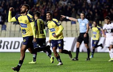 Josepmir Ballón marcó su primer gol con la U. de Concepción