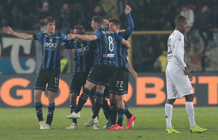 Atalanta accedió a la final tras vencer a la Fiorentina. Foto: Twitter