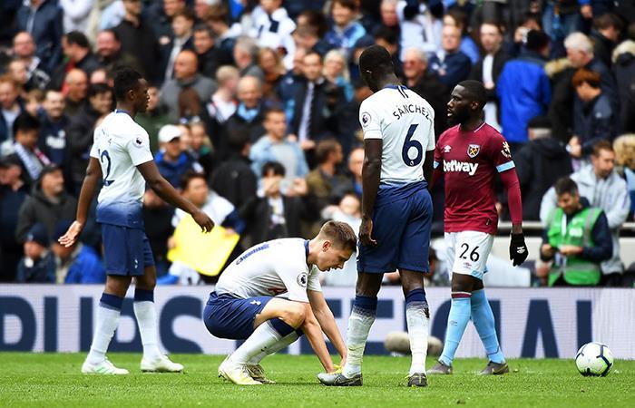 Tottenham cayó ante el West Ham. Foto: EFE