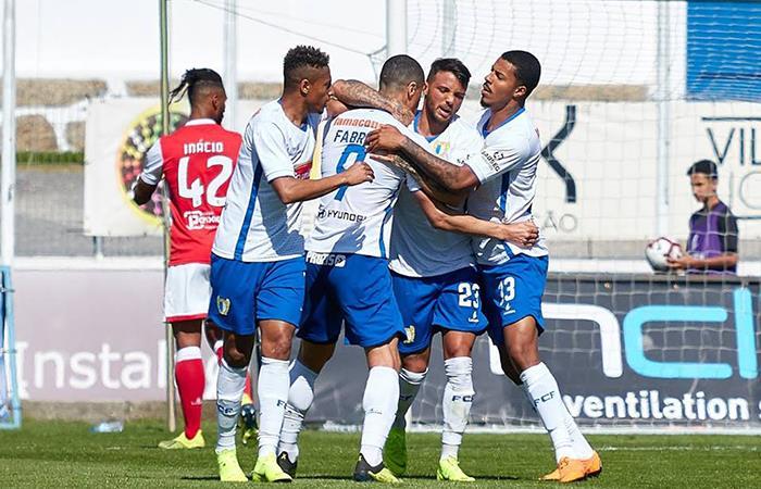 Vitoria Guimarães B sin Olivares cayó y se hunde en la Segunda Liga. Foto: Twitter