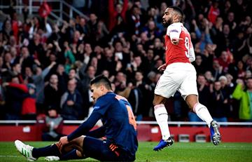 Arsenal con pie y medio a la final de la Europa League