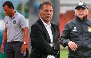 Seis técnicos que dejaron sus equipos antes de finalizar el Apertura