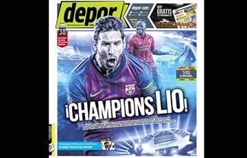 Portadas de los periódicos deportivos locales de este martes 07 de mayo