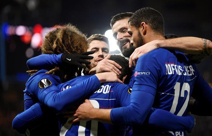 Chelsea vs Eintracht Frankfurt EN VIVO ONLINE por la Europa League