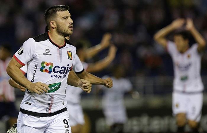 Mira el gol de Bernardo Cuesta que clasificó a Melgar a la Copa Sudamericana (Foto: EFE)