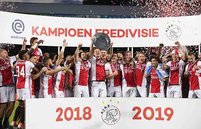 Ajax campeón de Holanda. Foto: EFE