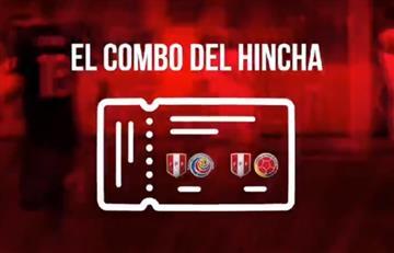 Selección Peruana: FPF lanza el 'Combo del hincha'