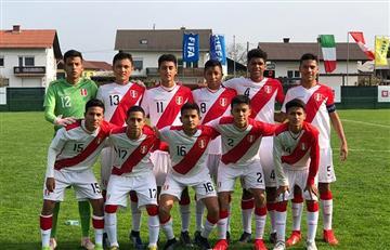 Selección Peruana Sub 15: lista de convocados