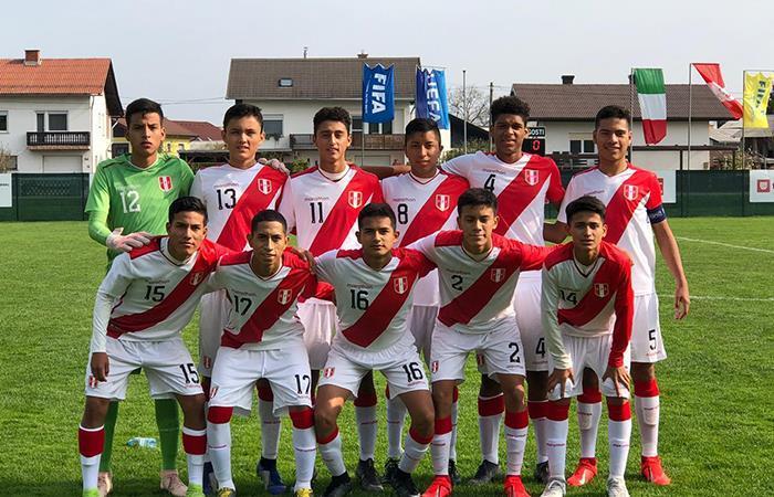 Selección Peruana Sub 15 (Foto: Instagram)