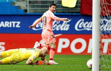 Barcelona y Eibar igualaron 2-2