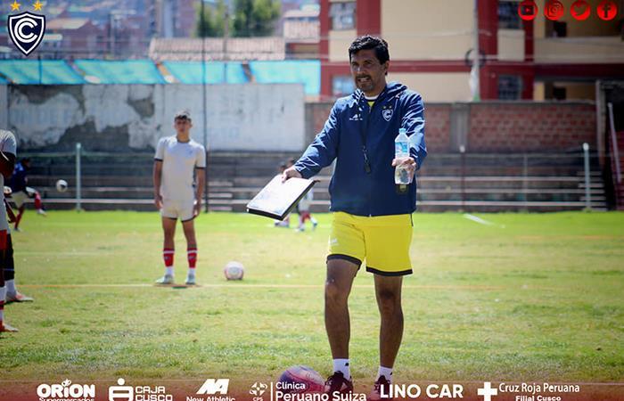 Duilio Cisneros resaltó la actitud de su equipo (Foto: Facebook Oficial Cienciano)
