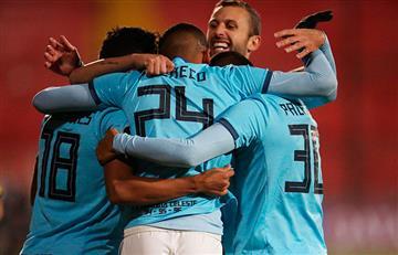 Cristal goleó en Chile por la Copa Sudamericana