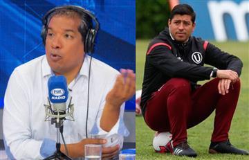 Alan Diez afirma que por esta razón Córdova sigue en la 'U'
