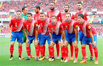 La lista de 23 de Costa Rica para amistoso ante Perú