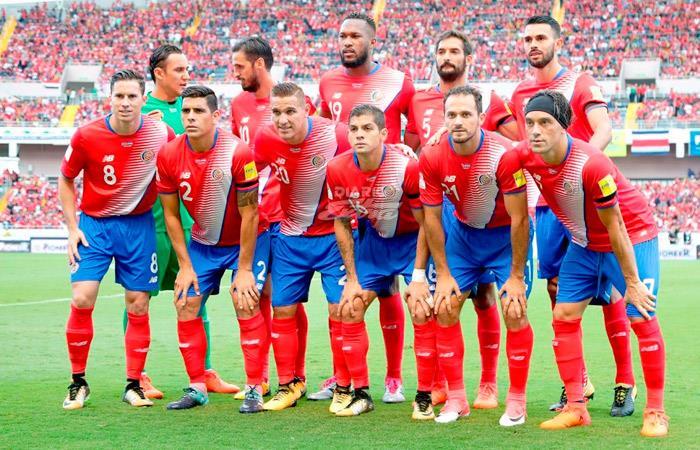 Costa Rica dio a conocer sus 23 jugadores que enfrentarán a Perú en el estadio Monumental