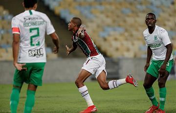Fluminense goleó en casa por la Sudamericana