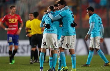 Revive los tres goles de Sporting Cristal en Chile