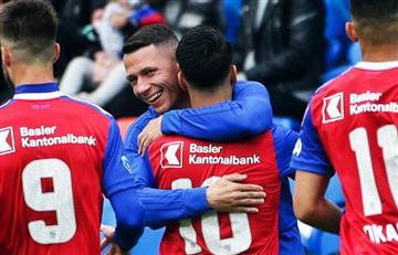 Carlos Zambrano: Basilea vs Xamax EN VIVO por Liga Suiza
