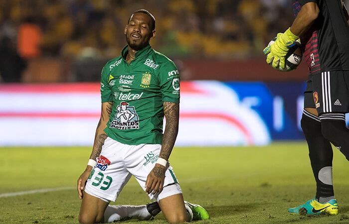 León cayó por 1-0 ante Tigres. Foto: EFE