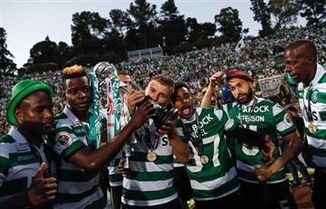 ¡Sporting campeón de la Copa de Portugal!