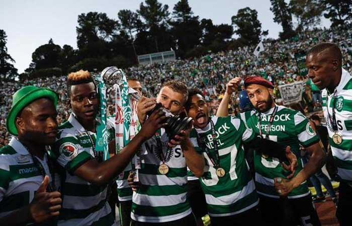 Sporting campeón de la Copa de Portugal. Foto: Twitter