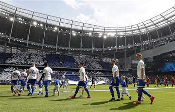 Rusia estrenó estadio Lev Yashin