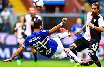 Massimiliano Allegri se despidió de la Juventus con una caída ante la Sampdoria