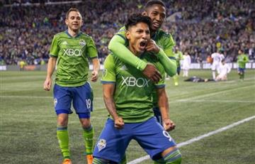 Raúl Ruidíaz marcó en la derrota del Seattle Sounders por la MLS