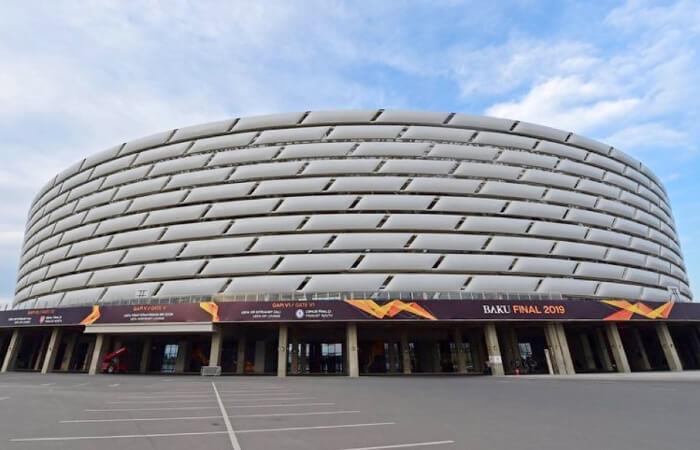Final de Europa League: El estadio del Arsenal vs Chelsea. (Foto: Twitter)